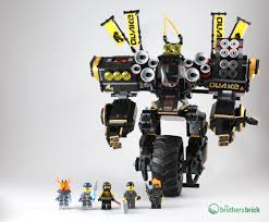 The LEGO NINJAGO Movie 70632 Quake Mech [Review] | The Brothers Brick