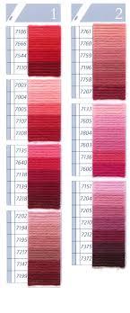 Dmc Tapestry Wool Chart Columns 1 2
