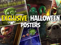 Exclusive Halloween Posters Unlocked in Angry Birds POP! They Make Awesome  Phone Backgrounds