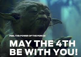 Image result for star wars may the 4th