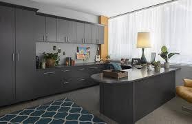 custom home office design. Modren Custom Custom Home Office Cabinets With Licorice Finish And Design O
