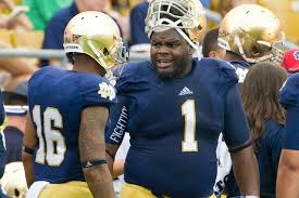 Louis Nix provides commentary on Notre Dame-Rutgers Pinstripe Bowl ...