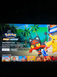 New Season of the Anime now available on Netflix US: pokemon