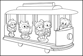 Small Picture Holiday Coloring Pages Super Why Coloring Pages Free Printable