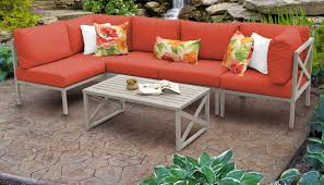 carlisle piece outdoor wicker patio furniture set synthetic antique american brown resin wicker table
