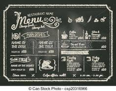 ベクター レストラン 食物 メニュー デザイン 黒板 背景