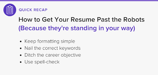 People Who Do Resumes Beat the Robots How to Get Your Resume Past the System Into Human 91