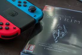 skyrim for the nintendo switch
