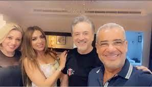مروان خوري وخطيبته بضيافة مصطفى الآغا... 'أخدِتلك عقلَك' (فيديو)