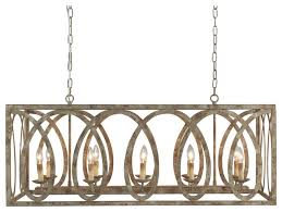 palma linear chandelier with washed white finish chandeliers by terracotta designs
