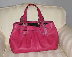 i even purchased the coach leather cleaner and it didn t help my pink bag that i purchased new for almost 300