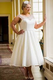 plus size wedding dresses with sleeves tea length plus size tea length wedding dresses short wedding dresses
