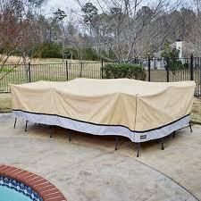 rectangular patio furniture covers. XL Rectangular Patio Set Cover By Seasons Sentry Furniture Covers E