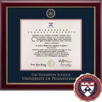 diploma frames university of pennsylvania bookstore church hill classics masterpiece diploma frame wharton online only