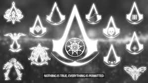 Assassins creed logo wallpaper images gaming hd wallpaper. Hd Wallpaper Assassin S Creed Logo Photo Of Assassin S Creed Logo With Nothing Is True Everything Is Permitted Wallpaper Flare