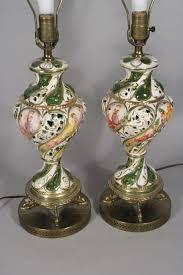 Capodimonte Table Lamps