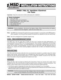 msd 5520 ignition control module installation instructions msd 7al 3 ignition control