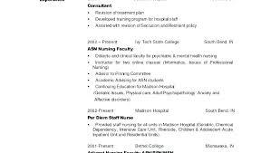 Registered Nurse Curriculum Vitae Sample Sample Resume For New Graduate Nurse New Grad Resume With No