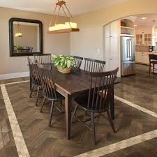 medium size of beautiful herringbone pattern daltile flooring with mosaic tile inlay and dining set wit