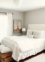 Bedroom Makeover Featuring Sherwin Williams Neutral Paint Color Amazing  Gray (SW 7044) From