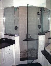 half wall shower enclosure extravagant e j glasirror corporation decorating ideas 11