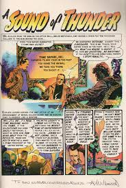 a sound of thunder in my not so humble opinion a sound of thunder comic book adaptation by al williamson page one ldquo