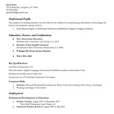 Student Teacher Resume Sample Educational Examples By How To Write A