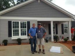 builders in raleigh nc. Brilliant Builders Steve Thomas And Doug DeWitt Special Projects Manager For Savvy Homes In  Raleigh NC This Is Dougu0027s Fourth Year Participating Habitatu0027s Home Builders  In Raleigh Nc D