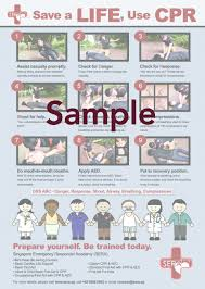 Free Printable Cpr Chart Cpr Poster Sera Accredited First Aid And Cpr Aed Course
