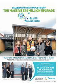Waranga Health Upgrade Feature by The Adviser - issuu