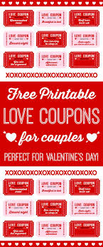 17 best ideas about love coupons boyfriend coupons printable love coupons for couples on valentine s day