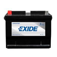 Exide Automotive Battery Application Chart Exide Sprinter 12 Volts Lead Acid 6 Cell 59 Group Size 650 Cold Cranking Amps Bci Auto Battery