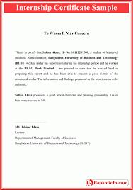 Computer Certificate Format Interesting Internship Certificate