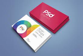 Free Psd Business Card Templates Free Business Cards Mockup Psd Mockuptree