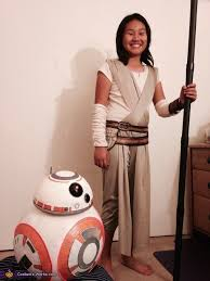 star wars rey bb 8 costume photo 2 9