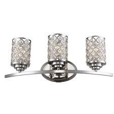 glam lighting. Senters 3-Light Vanity Light Glam Lighting