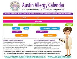 Austin Tx Allergy Chart Austin Allergies 1800forbail