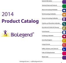 Product Catalog Biolegend Com General Information