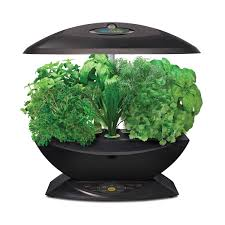 Hydroponic Kitchen Herb Garden Amazoncom Miracle Gro Aerogarden 7 With Gourmet Herb Seed Kit