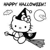Kleurplaat Halloween 2687