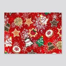 christmas cookies 5u0027x7u0027area rug christmas area rugs23