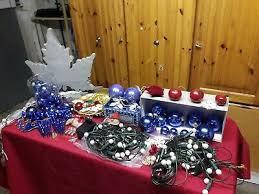Christbaumschmuck Weihnachtsdeko Kugeln Lichterkette Weiß