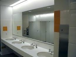 public bathroom mirror. Brilliant Bathroom Public Bathroom Mirror Two Way Restroom One Inside Public Bathroom Mirror