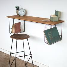 industrial wall shelf with wire baskets a cottage in the city industrial wall shelves