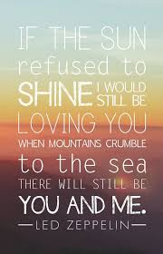 Love Lyrics Quotes Classy Led Zeppelin Song Lyrics Poster Thank You Home Decor Pinterest