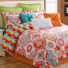 bright colorful bedding sets  beds decoration