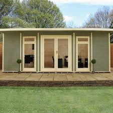 home office cabin. Contemporary Home 6m X 4m Insulated Cabin Inside Home Office I