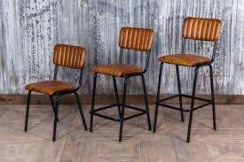 Tan Leather Bar Stools47