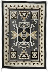 Navajo indian designs Navajo Weaving Navajo Two Grey Hills Storm Pattern Textile By Daisy Tauglechee Canyon Road Arts Symbols And Motifs In Navajo Weaving Canyon Road Arts