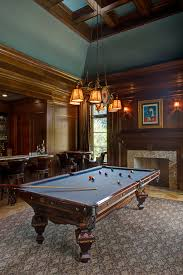 the best of pool table rugs at for man cave family room mediterranean with mahogany paneling
